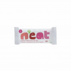 N'eat Cacao, Coconut & Chia Seeds Natural Energy Fruit Bars (16x45g)