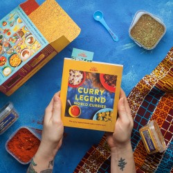 World Curries Cookbook Kit
