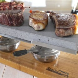 Sharing Steak Stone Grill Set & Gel Fuel Pack