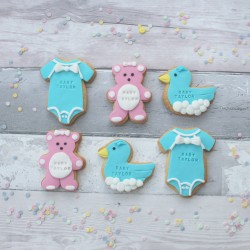 Personalised Baby Shower Cookies