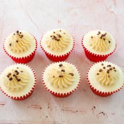 Chocolate Sprinkles Cupcakes Gift Box