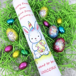 Cocoapod chocolate i want to be a unicorn chocolate easter gift
