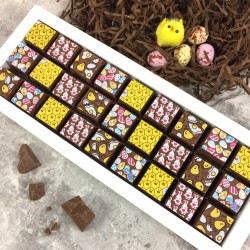 Mosaic Easter Chocolates in Milk Chocolate
