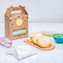Dotty Biscuit Party Bag
