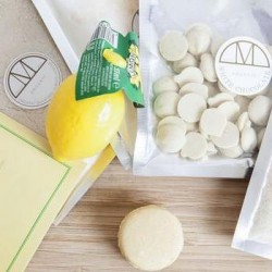 Vegan Macarons Making Mini Kit - Lemon