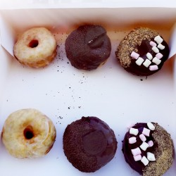 Mixed Flavours Vegan Donuts (Box of 6)