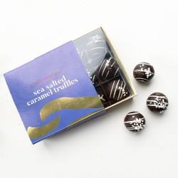 Sea Salted Caramel Chocolate Truffles