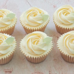 Rose Swirl Cupcakes by Post Gift Box