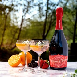 Elderflower & Rhubarb Blush Sparkling Wine