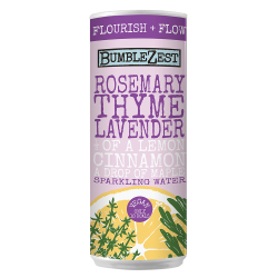 Flourish + Flow: Sparkling Rosemary, Thyme & Lavender (24 pack)