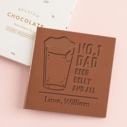 Personalised 'Beer Belly' Father's Day Card