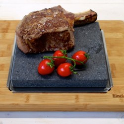 Big Sizzling Steak Stone Platter