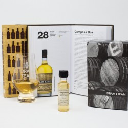 """101 Whiskies"" Gift Set of Book, Glass & Dram"