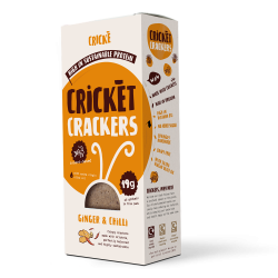 Cricket Crackers - Ginger & Chilli (4 Packs)