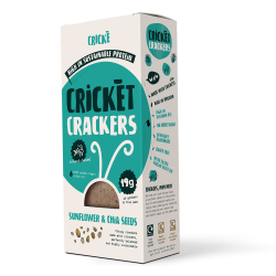 Cricket Crackers - Sunflower & Chia (4 Packs)