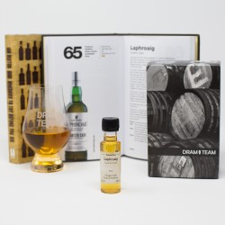 """101 Whiskies"" Gift Set of Book, Glass & Peaty Dram"