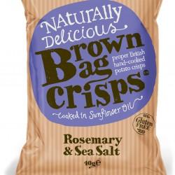 Rosemary & Sea Salt Crisps (20 Packs)