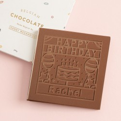 Personalised Chocolate Better Than Cake Card
