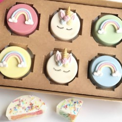 Unicorn and Rainbow Cakelets