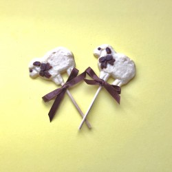 Three Dairy Free Sheep Lollies
