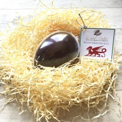 Dairy Free Alternative to Milk Chocolate Welsh Dragon Egg (Set of 2)