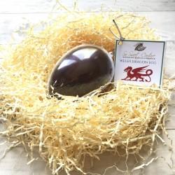 Dairy Free Alternative to Milk Chocolate Welsh Dragon Egg (Set of 2)