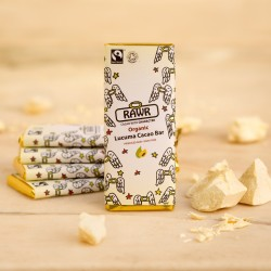 Lucuma Raw Cacao Chocolate Bars - Organic, Fairtrade