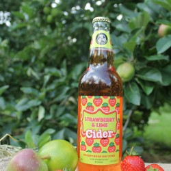 Strawberry and Lime 4% Cider 12 x 500ml bottles