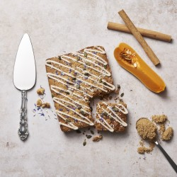 Spiced Butternut Squash Letterbox Cake (Vegan Friendly Recipe)