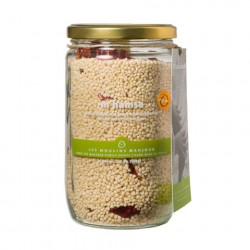 Moulins Mahjoub Organic Mhamsa Couscous with Red Peppers 500g