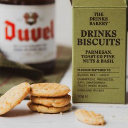 Drinks Biscuits - Parmesan, Toasted Pine Nuts and Basil