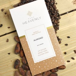 3 Vegan Low Sugar Almond Milk Chocolate Alternative Bars (Free From)