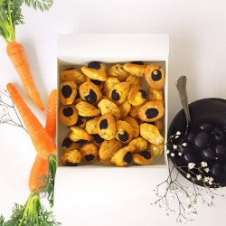 Mini Madeleines - Carrot, Cumin & Black Olive
