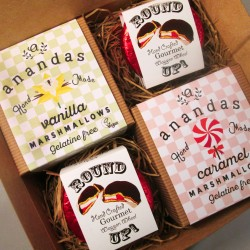Gourmet Vegan Marshmallows & Wagon Wheels Gift Box