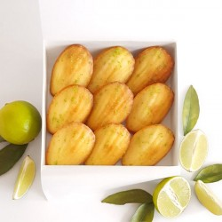 Madeleines - Box Tahiti: Coconut & Lime