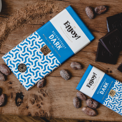 Dark 70% Raw Organic Chocolate (5 bars)