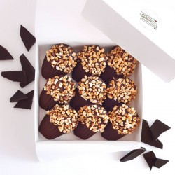 Madeleines - Box Biarritz: Dark Chocolate & Nuts