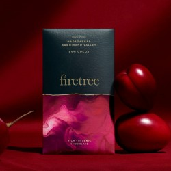 Firetree, Single Estate, Madagascar, Sambirano Valley, Rich Volcanic Chocolate Bar 84% Cocoa 2x65g