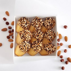 Madeleines - Box Chamonix: Milk Chocolate & Praline