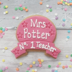 Thank You Teacher Personalised Cookie Gift