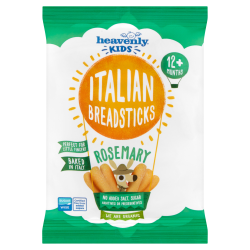 Heavenly Kids, Italian Breadsticks, organic Rosemary (Pack of 7)