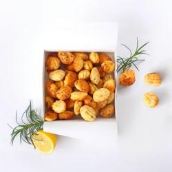 Mini Madeleines - Salmon, Tarragon & Lemon