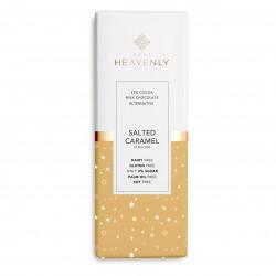 3 Vegan & Low Sugar Salted Caramel Milk Chocolate Alternative Mini Bar - 25g - Free From