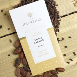 3 Vegan Low Sugar Salted Caramel Milk Chocolate Alternative Bars (Free From)