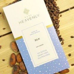 3 Vegan Low Sugar Silk Milk Chocolate Alternative Bars (Free From)