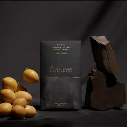 Firetree, Single Estate, Solomon Islands, Guadalcanal, Rich Volcanic Chocolate Bar 100% Cocoa 2x65g