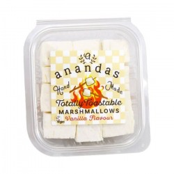 Totally Toastable Gourmet Vanilla Marshmallows (Vegan)