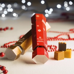 Gourmet Christmas Fudge Cracker Set
