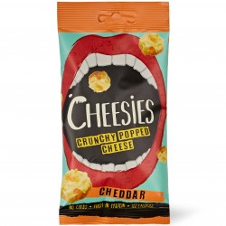 Crunchy Popped Cheese - Cheddar (12x20g packs)