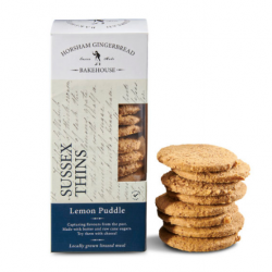 Sussex Lemon Puddle Thin Biscuits (4 packs)